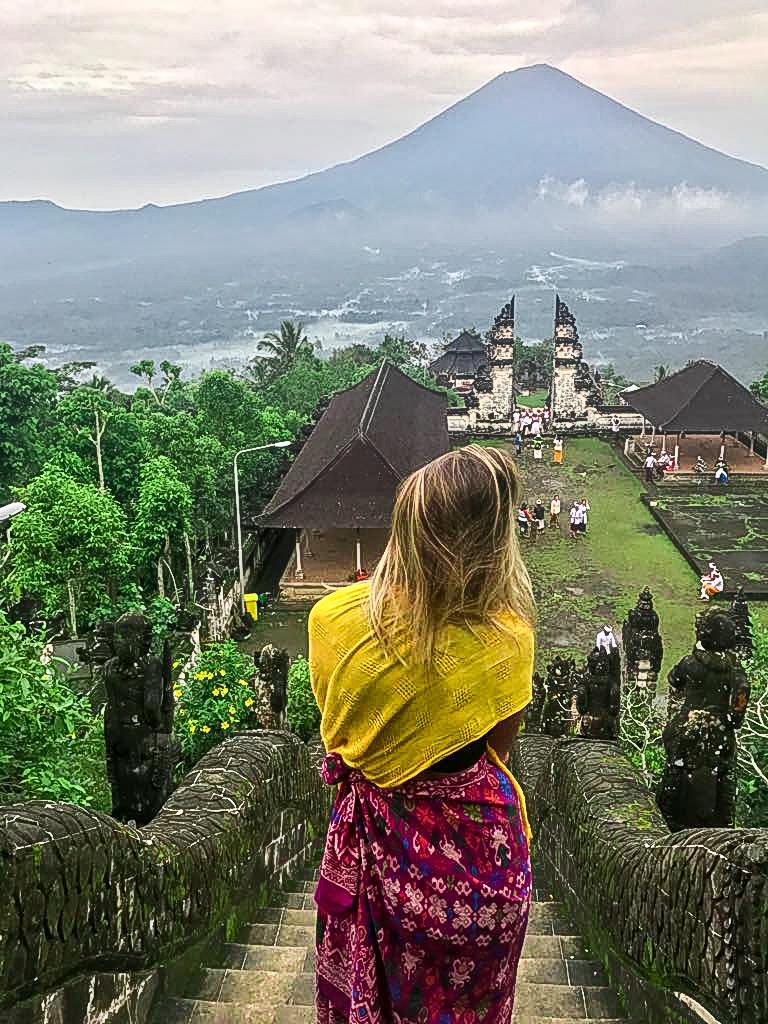 Mount Agung Views from Pura Lempuyang
