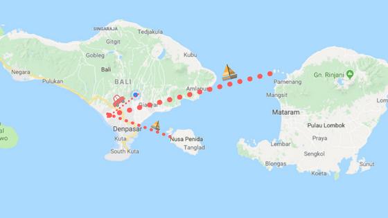 Three trips in 5 days..Nusa Lembongan, Gili T, Ubud