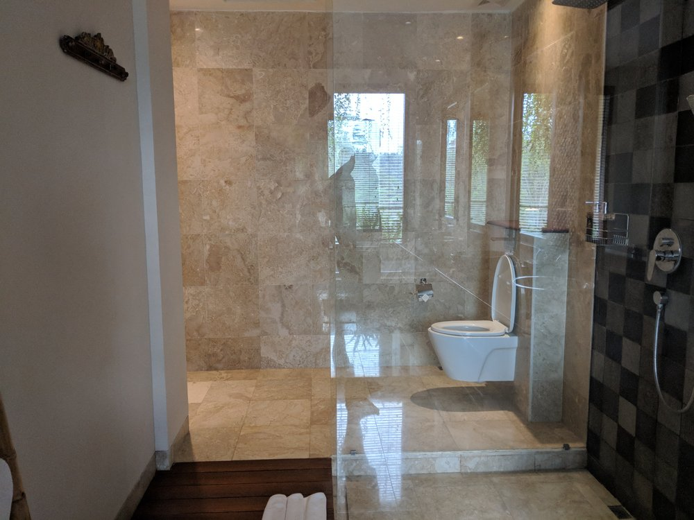 Jannata Resort and Spa Shower
