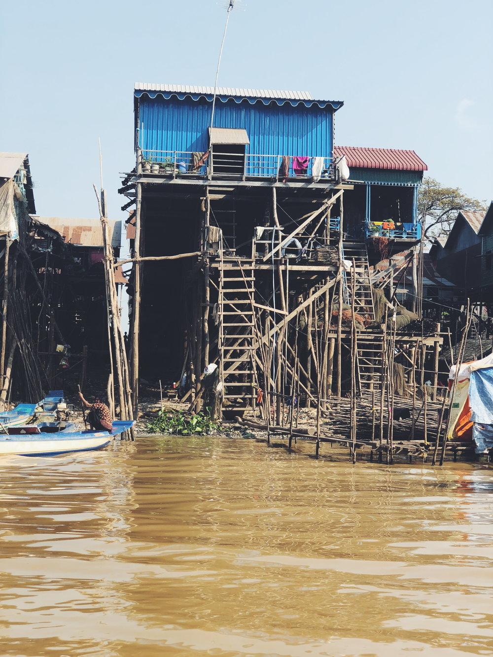 Floating Village of Tonle Sap