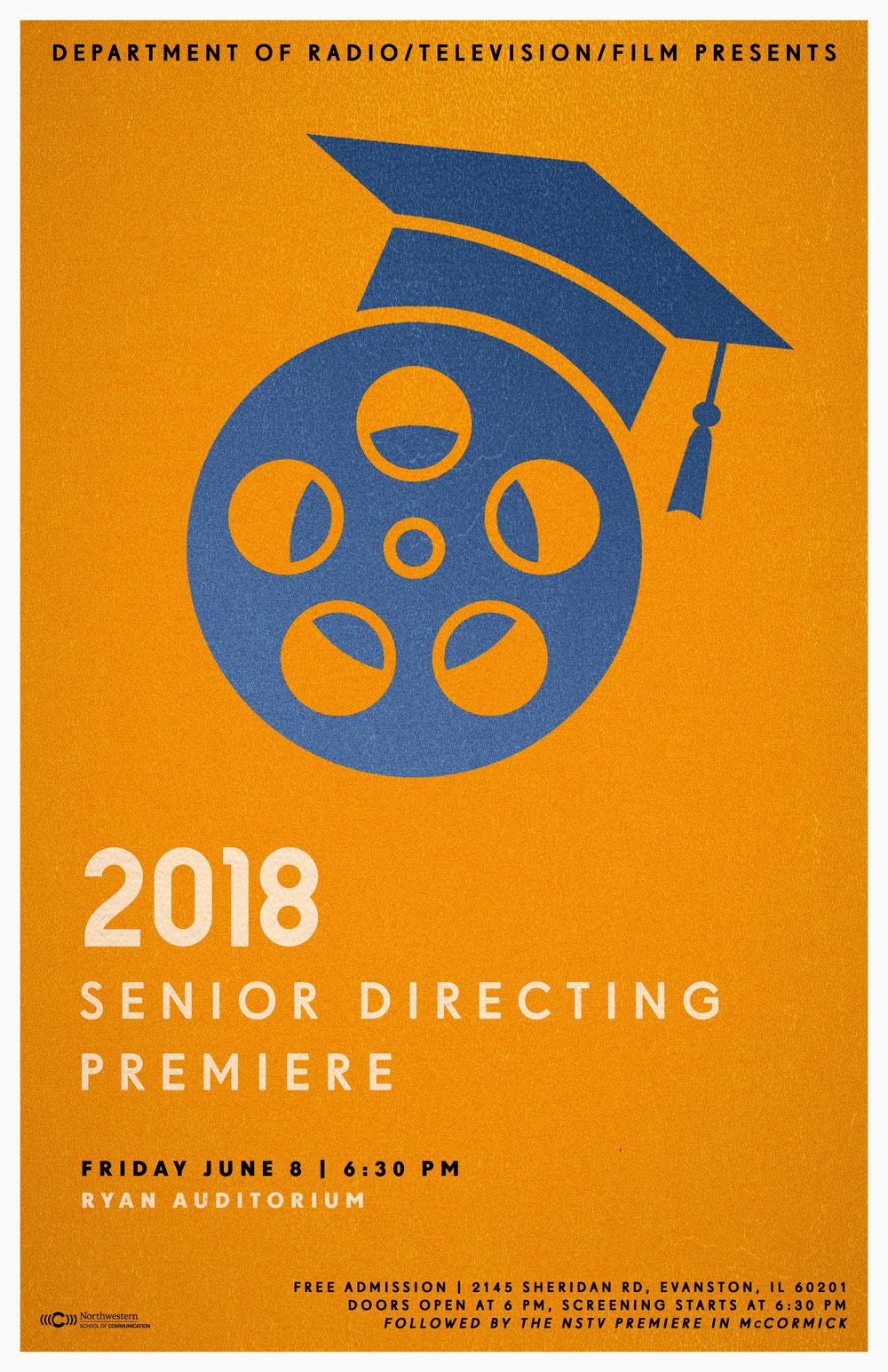 2018 Senior Directing Premiere