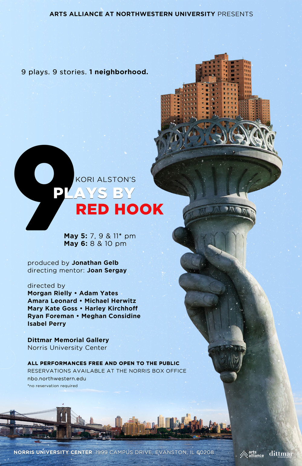 Kori Alston's 9 Plays By Red Hook