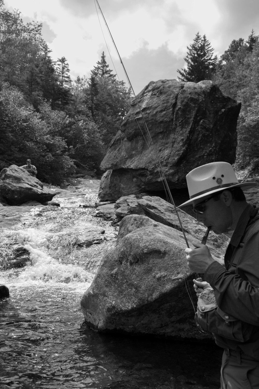 Jillian Schuller Photography - Portrait of a Fly Fisherman