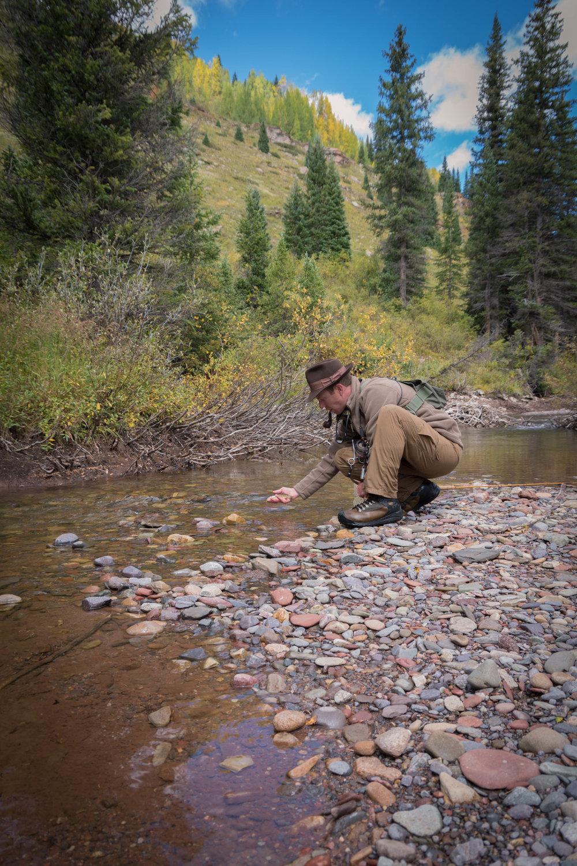 Jillian Schuller - Fly Fishing