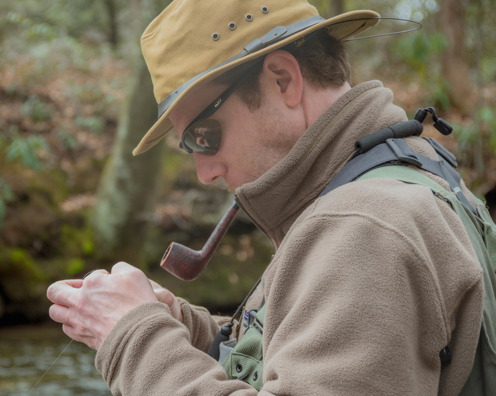Jacob Rash - Custom rod builder.  Fly fishing guide. Bamboo snob, Filson collector, and brook trout junkie.