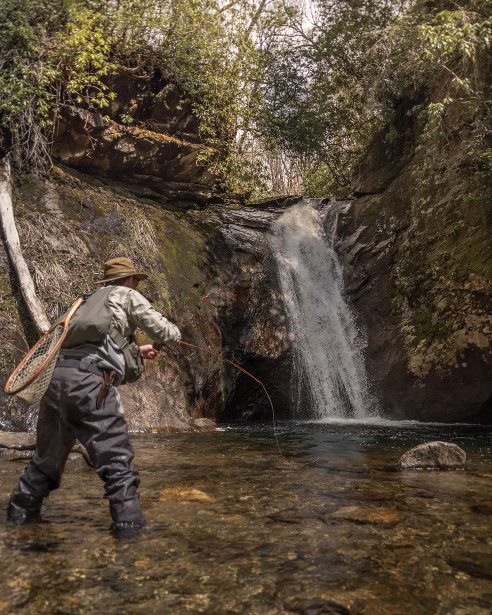 Went chasing waterfalls