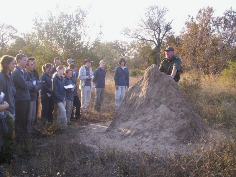 Unique ecological training and field experience