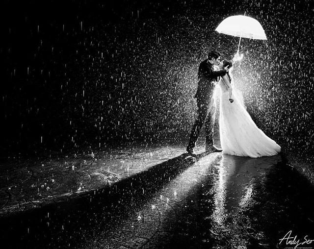 Let the rain kiss you! 💋 This rainy day has us thinking back to the beautiful wedding @slsbeverlyhills. It poured that day but these two love birds embraced every moment! #truelove #ido @wookdong_e @chlo__o2 . Venue @slsbeverlyhills | Photographer @andyseostudio | Planner @belladestinee | DJ @shine.entertainment | Floral @cityflowerla | Lighting @psavglobal | Cake @mcakessweets | Rental @mtb_event_rentals . #slsbeverlyhillshotel #rainydaywedding #bridalportrait #happilymarried #kissme #happyvalentinesday