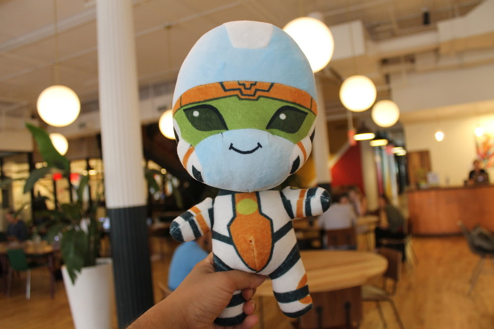 Lotus Alien Plush Doll