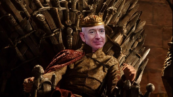 Photo of Bezos by Leigh Vogel/Getty Images