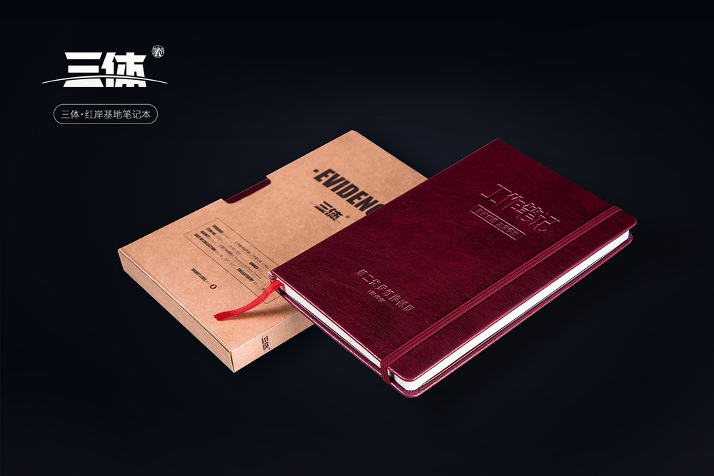 Notebooks of The Three Body Problem. They are on us!