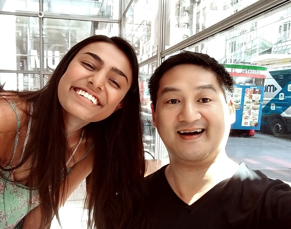 Interviewer Jasmine Sharma with Composer/Lyricist Timothy Huang