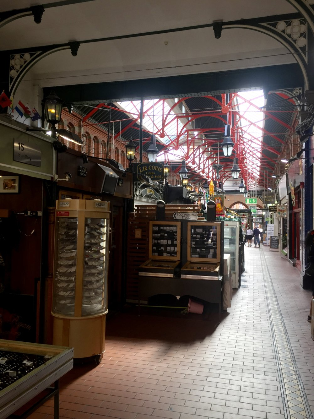 George's Street Arcade opened in 1881 as the South City Markets, and it still showcases a cool collection of eclectic shops!