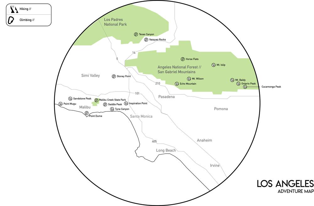 LA Adventure Map