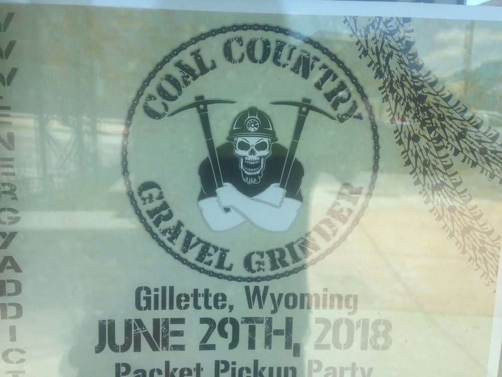 A poster in Gillette, WY