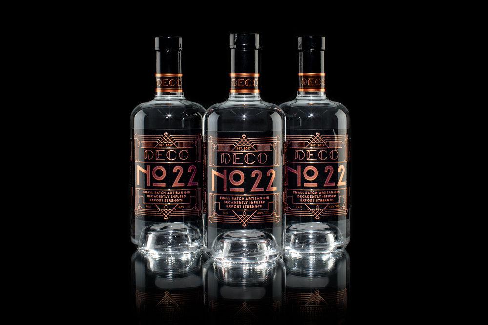 3 bottles of 70cl Deco gin.jpg