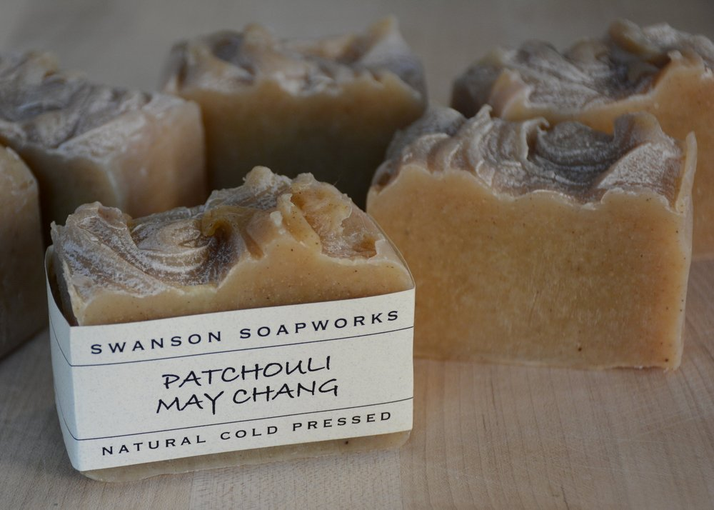 our patchouli may chang soap bar