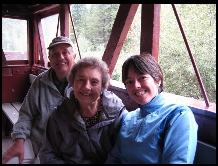 On the Georgetown Loop Railroad to celebrate Grandma's 83rd birthday. August, 2008. Photo by my partner, Christi Brockway.