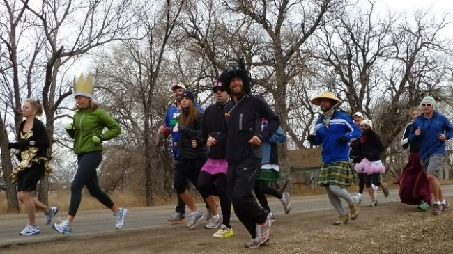 On the run between Fort Collins Brewery and Funkwerks.