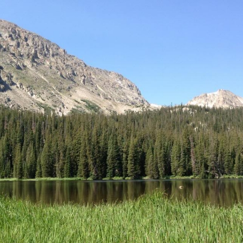 Ouzel Lake.