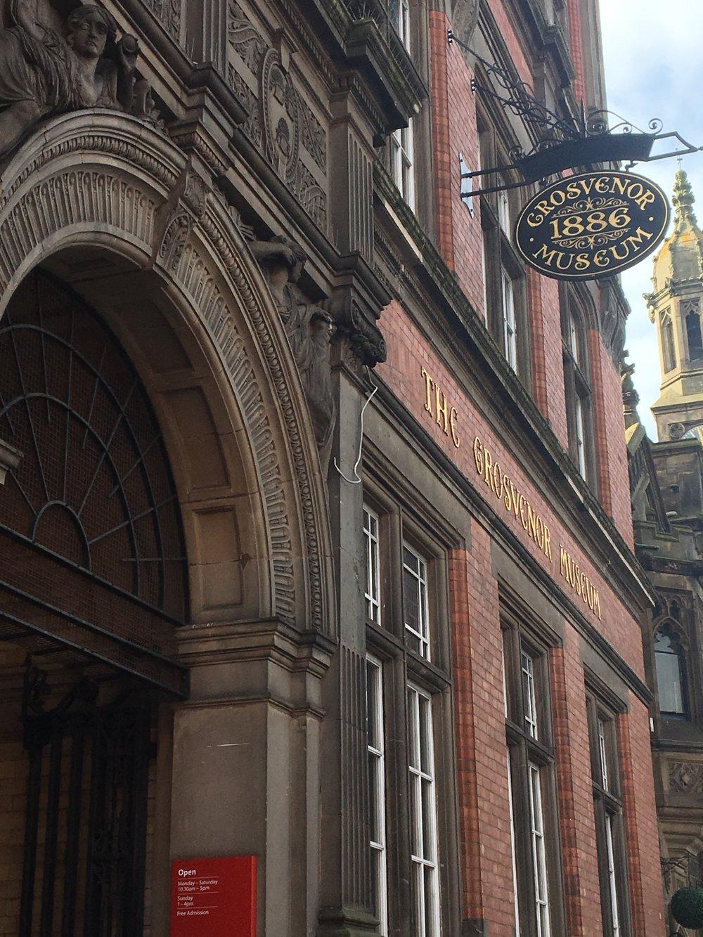 The Grosvenor Museum in Chester