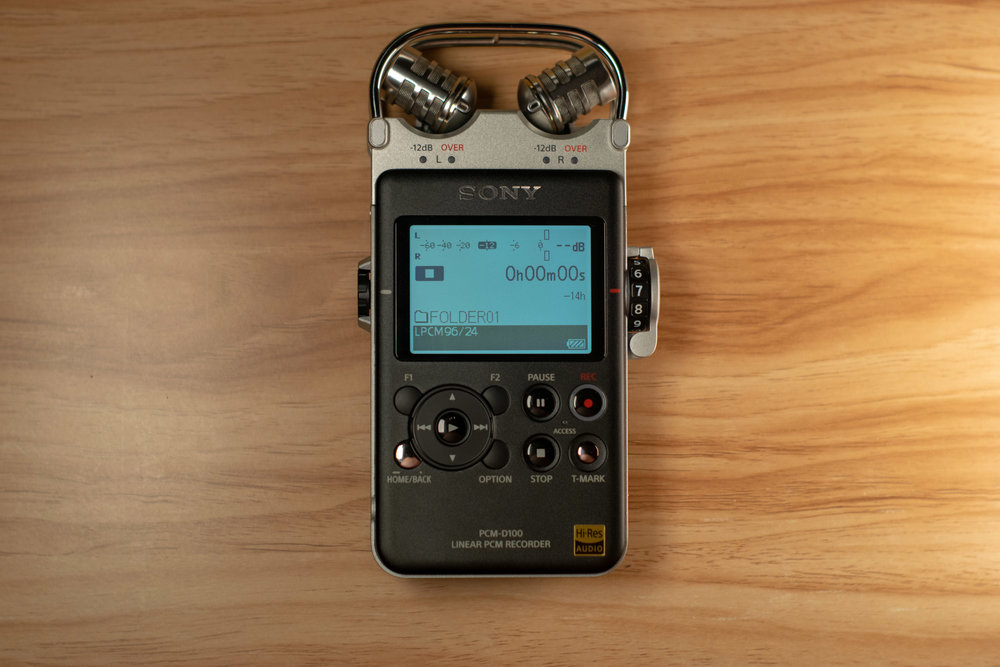 So, What is The Sony PCM-D100/1? — SKYES AUDIO