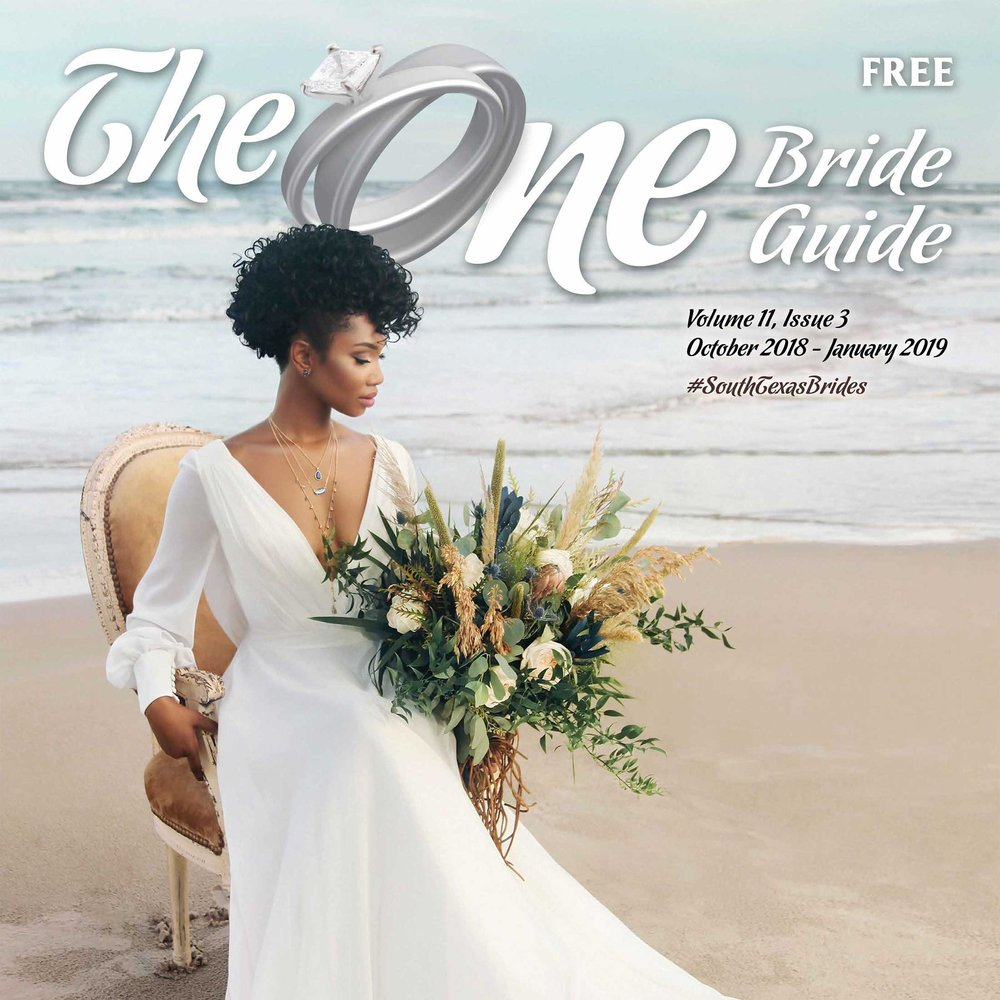 Published in The One Bride Guide - October 2018