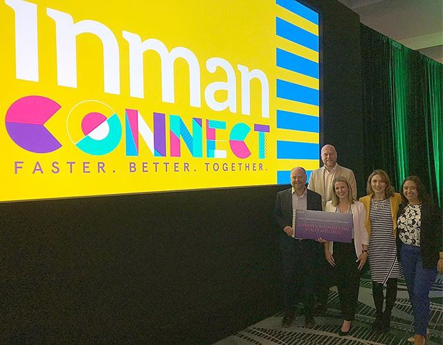 What an honor for our brand @sothebysrealty to be up for the MOST INNOVATIVE REAL ESTATE TECHNOLOGY AWARD 🥇 by @inmannews - It comes as no surprise to us by the team in this photo! #icsf
