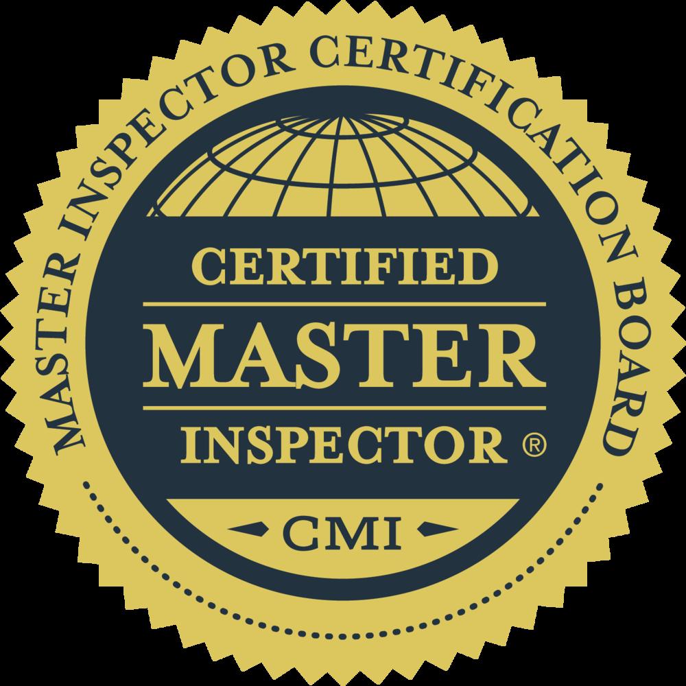 Certified Master Inspector Phoenix