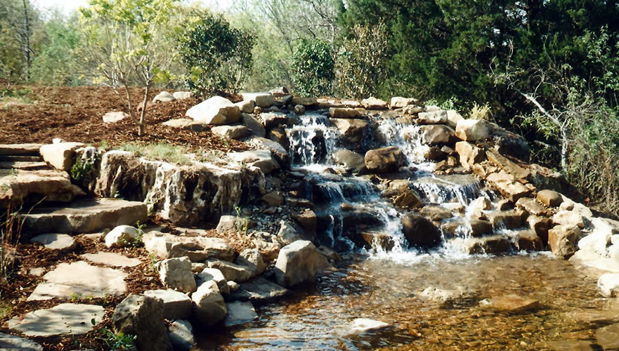 Water Feature • Waterfalls