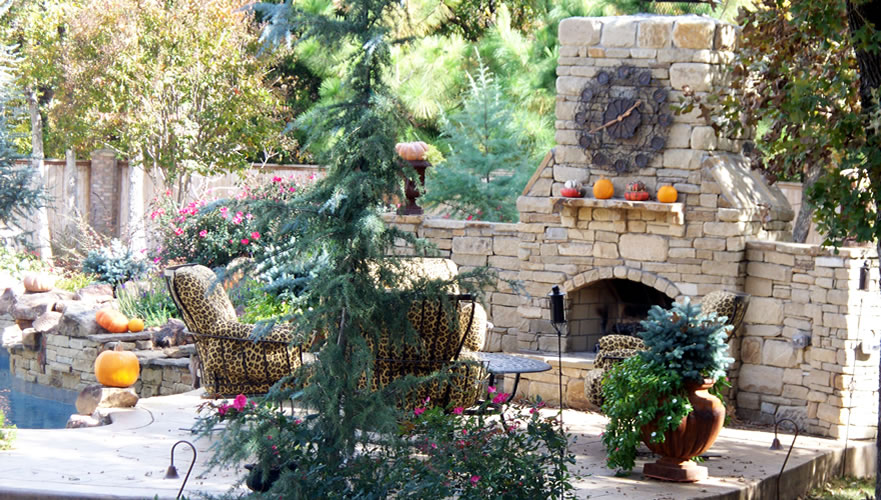 Copy of Copy of Outdoor Living • Fireplace