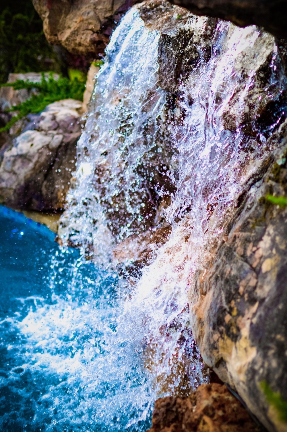 Copy of Water Feature • Waterfall