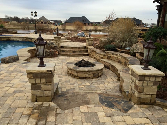 Hardscaping • Fire Pit