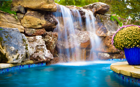 Waterfalls & Lazy River