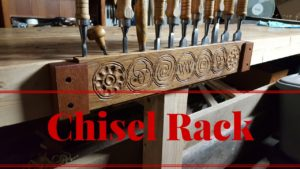 Making a Carved Chisel Rack From White Oak, Dave Foss Colab