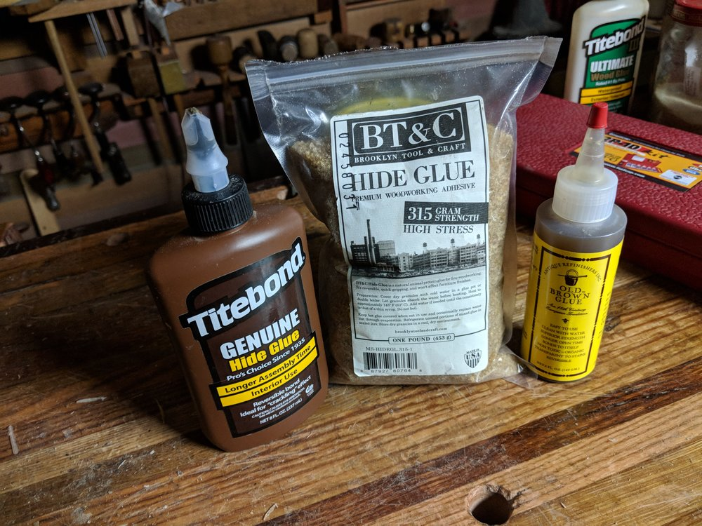Liquid vs Dry Hide Glue