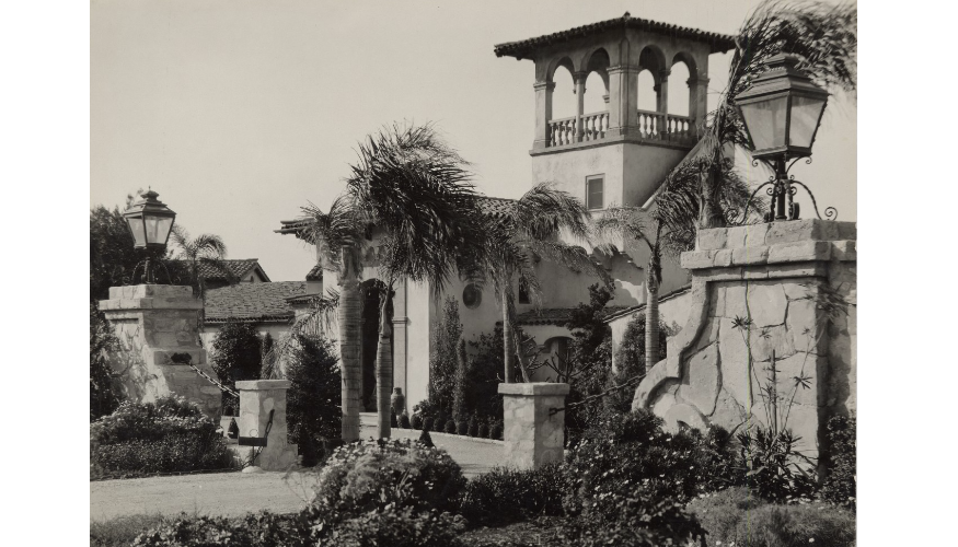 The Haggarty Estate, 1929 Courtesy Palos Verdes Library District,  Local History Center