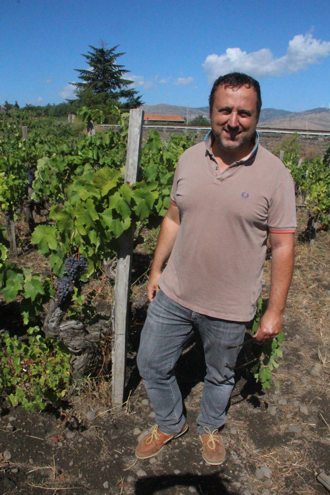 Guiseppe Russo, of the Girolamo Russo winery