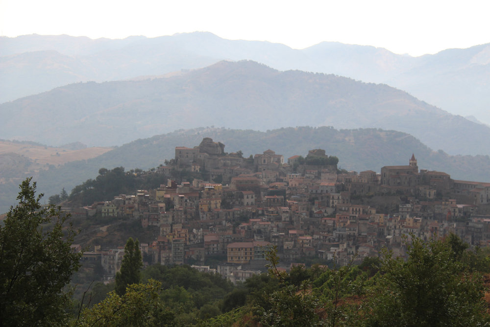 A view of Castiglione di Sicilia, in the heart of wine country on Etna