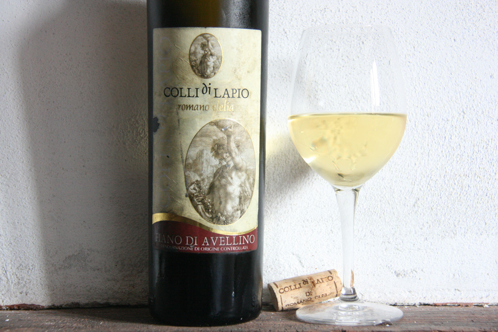 At 10 years of age, Colli di Lapio's Fiano di Avellino shows its true colors.