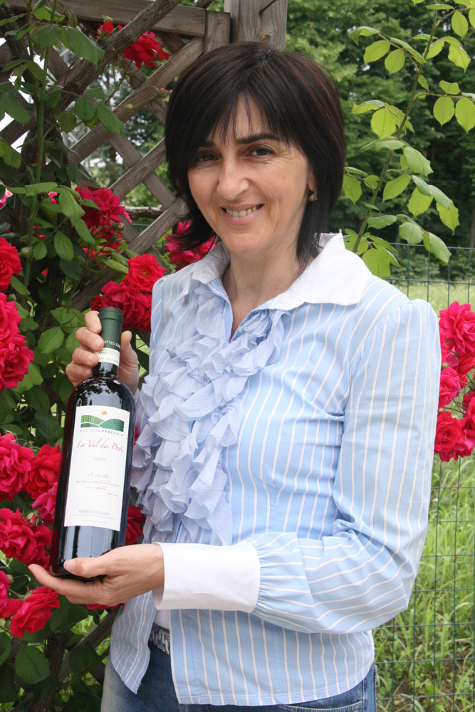 Ornella Correggia, owner of Matteo Correggia winery
