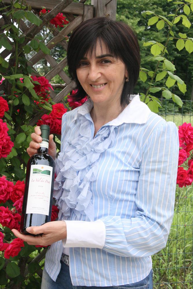 Ornella Correggia, owner of Matteo Correggia winery