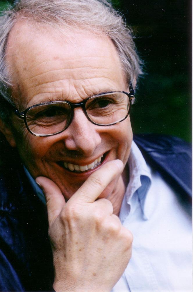 The director Ken Loach