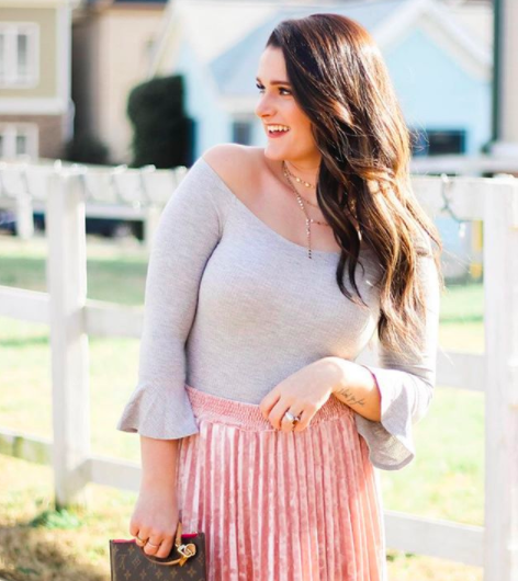 Meet Carly, fashion blogger behind @beautifulonabudget_