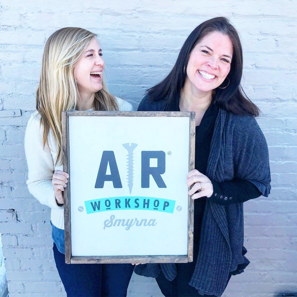 Meet Liz,Boutique DIY Home Decor Workshop behind @arworkshopsmyrna