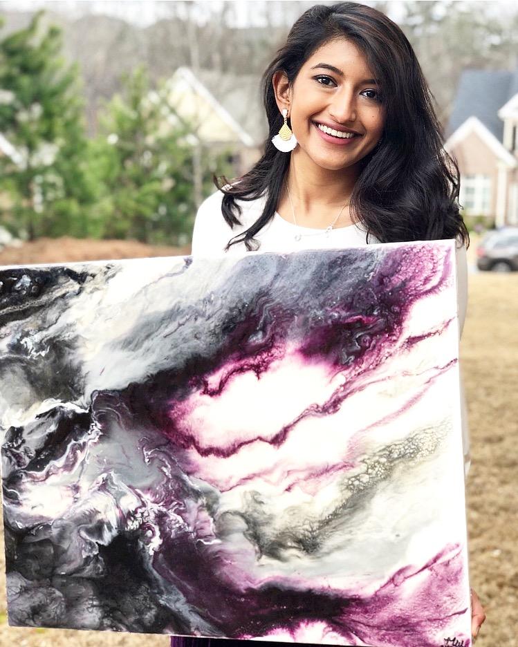 Meet Mehwish, artist behind @WasiartworksWasiartworks