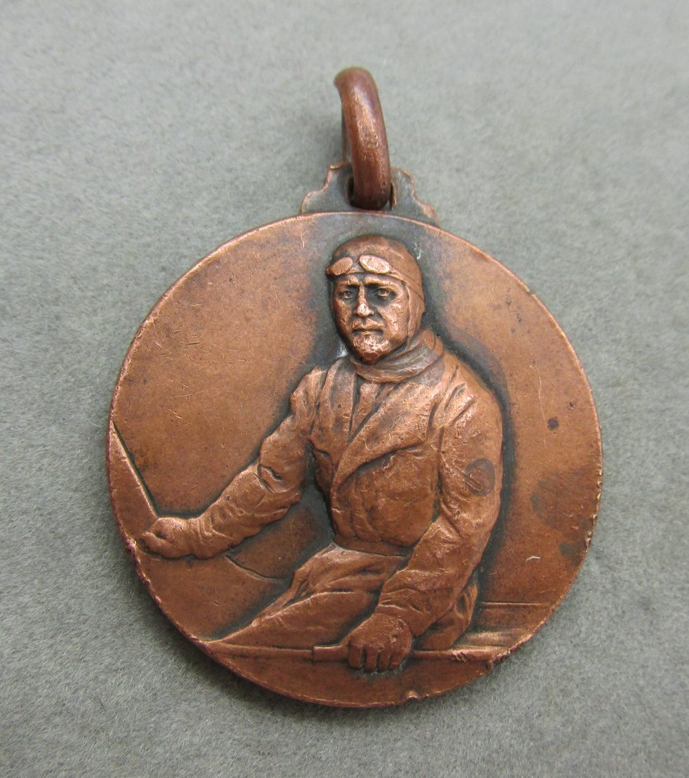 "- VERY RARE, 1933, Chicago World's Fair, pocket watch fob or medal. This fob/medal is extremely rare. The only one I can find online anywhere is in the Smithsonian Air & Space Museum. One side shows Italo Balbo and the other side shows the Savoia-Marchetti S-55x aircraft. The Savoia-Marchetti S-55x was introduced in 1926 and retired in 1945. The fob measures 1.25 inches in diameter. Very rare piece of Aviation history depicting the voyage from Italy to the Chicago World's Fair, Century of Progress Exposition in 1933. I found the following information online:In 1933 General Italo Balbo led an armada of 24 Italian hydroplanes from Rome to the Century of Progress Exposition in Chicago. It was billed as the ""Crociera del Decennale"" (i.e. 10th anniversary voyage in English) commemorating 10 years of fascist rule in Italy. This medal was one of several struck to commemorate the flight. Chicago renamed the former 7th Street ""Balbo Drive"" and staged a great parade in his honor. The Italian Exhibit building was designed in the shape of a giant airplane to tie into the armada flight theme. Available in my ebay store. Click here to view."
