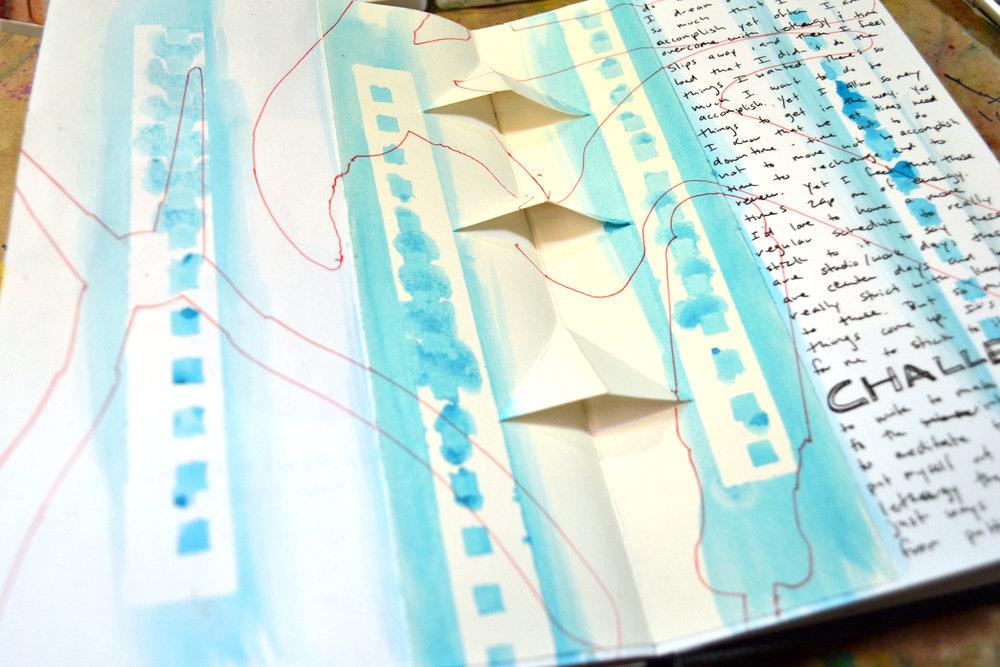 Masking: Spiral Bound Paper