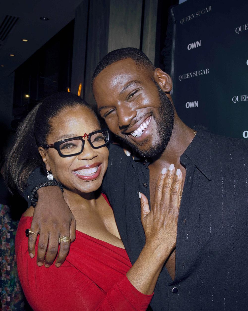 Oprah Winfrey & Kofi Siriboe