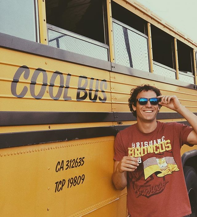 Comment below: Who's cooler, me or this bus? Don't pay attention to the name of the bus. Please judge based on coolness factors only. Really hope I win this. #cool #contest #coolguy